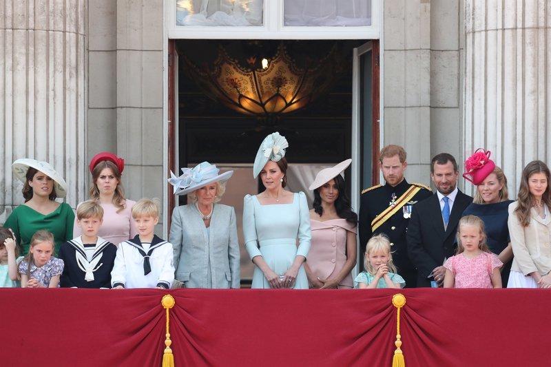 Camilla, Kate und Meghan