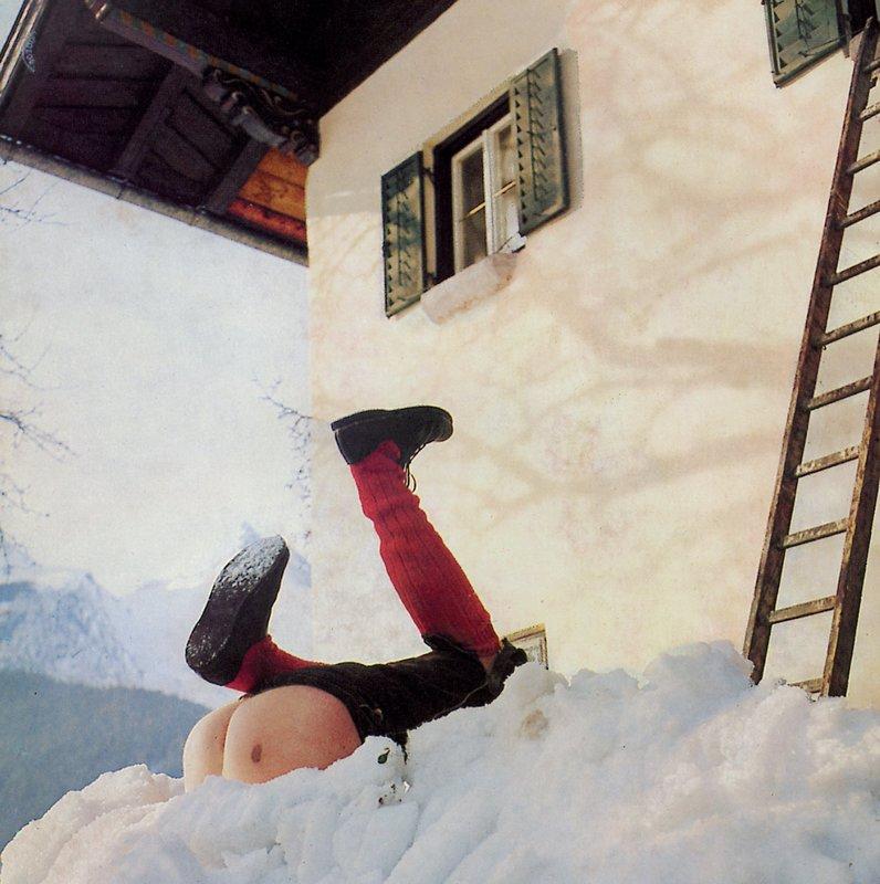 Alpenglühn im Dirndlrock