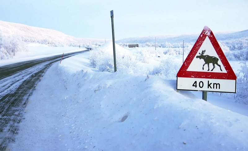 Nordlichter - Menschen im Winter