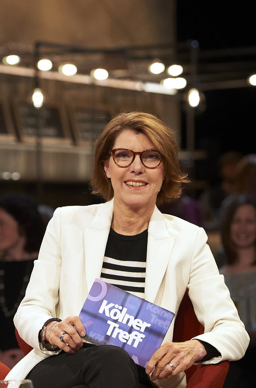 Moderatorin Kölner Treff