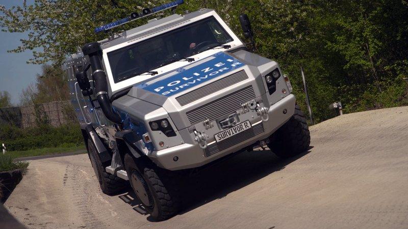 Rollende Festungen aus Panzerstahl - Sonderwagen der Polizei