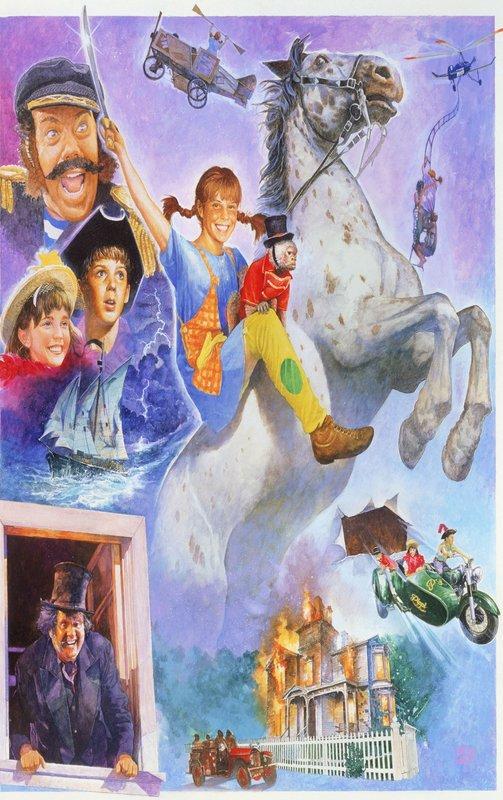 Die Neuen Abenteuer Von Pippi Langstrumpf