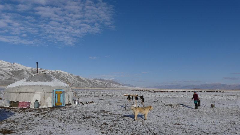 Die Adlerjäger in der Mongolei
