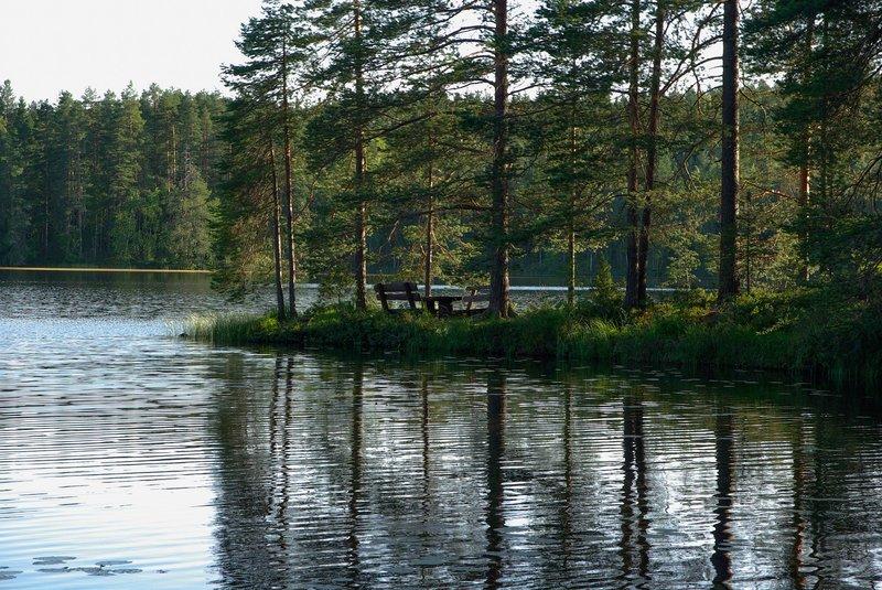 Finnlands blaue Seen
