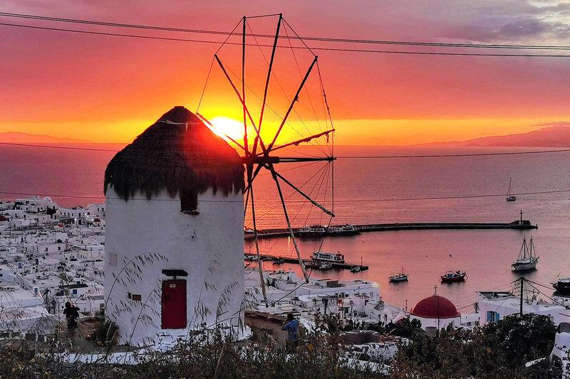Griechenlands blau-weiße Inselwelt