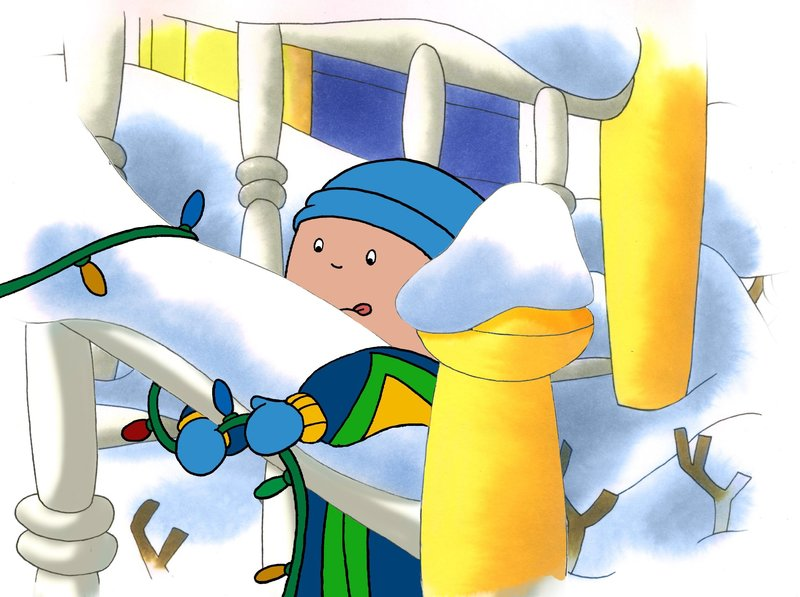 caillou weihnachten mit caillou caillou 39 s holiday movie. Black Bedroom Furniture Sets. Home Design Ideas