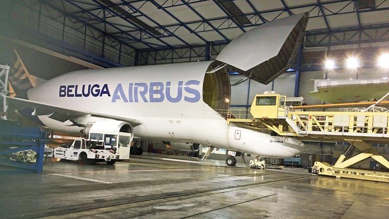 Airbus - Logistik eines Flugzeuggiganten