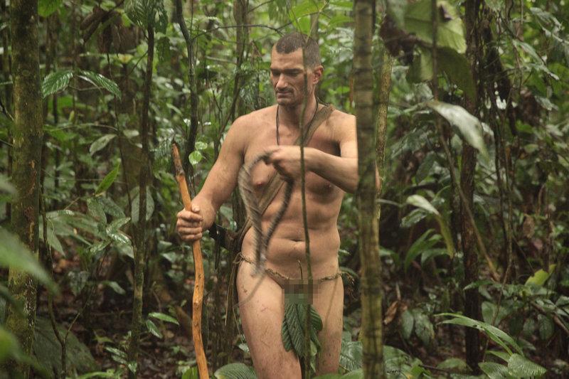 naked survival ausgezogen in der wildnis