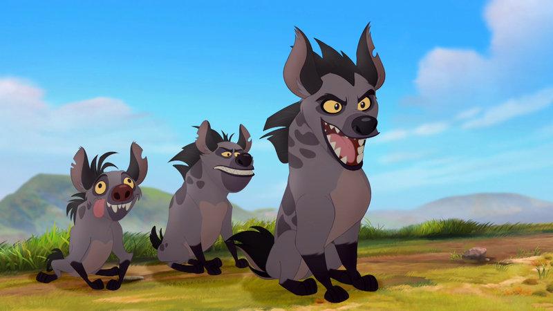König Der Löwen Hyänen
