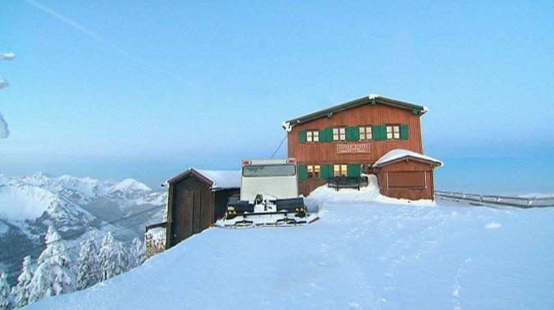 Hochwinter - Zwei Hütten in den Allgäuer Bergen