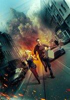 Filmposter für 'Collide' mit Casey Stein (Nicholas Hoult), Juliette Marne (Felicity Jones)