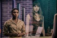 Cynthia Erivo (Darlene Sweet), Dakota Johnson (Emily Summerspring).