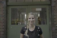 """Fränzi Kühne, Unternehmerin aus Berlin: """"Unternehmen erkennen immer mehr das Potenzial in Ostdeutschland. Sie siedeln sich dort an, die schaffen Arbeitsplätze und es wird viel investiert."""""""