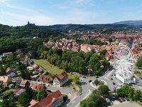 Speed-Dating in einem Riesenrad in Wernigerode in Sachsen-Anhalt: Unternehmen treffen auf Azubis. In Corona-Zeiten in außergewöhnlichen Locations.
