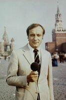 Fritz Pleitgen in Moskau 1975.
