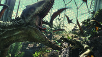 Eigentlich sollte der neu gezüchtete Indominus Rex die Attraktion in Jurassic World werden, doch die Wissenschaftler hätten nie damit gerechnet, welch intelligentes und gefährliches Wesen sie dort erschaffen haben ...