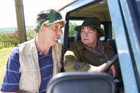 Stan Conville (Philip Martin Brown, l.); Vera Stanhope (Brenda Blethyn, r.)
