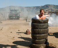 AT-027  Face (Bradley Cooper) remains defiant, despite his imprisonment in stack of tires.