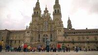 Das große Ziel der Pilger ist erreicht: die Kathedrale von Santiago de Compostela.