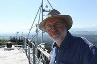 Harald Lesch auf dem Meteorologischen Observatorium Hohenpeißenberg, Sommer 2020.
