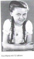 Eva-Maria Hagen 1946 als 12-Jährige.