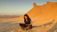 """PHOENIX DAS UNBEKANNTE TUNESIEN, am Freitag (27.04.12) um 21:00 Uhr. Salma schreibt über ihre Reise vor der Kulisse des Filmes """"Der englische Patient"""": Ong Djebel."""