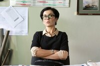 Hanna Jens (Marie-Lou Sellem) wird völlig überraschend zur zweiten Geschäftsführerin ernannt.