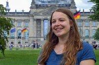Die Berliner Verhaltensökologin Sophia Kimmig erforscht das Leben der Stadtfüchse.