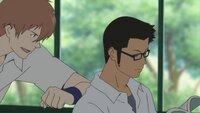 Chiaki Mamiya (l.); Kosuke Tsuda (r.)