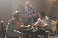 Sie lassen Ethan nicht hängen: Jane (Paula Patten, l.), Benji (Simon Pegg, M.) und William (Jeremy Renner, r.) wollen dem Geheimagenten helfen, eine Katastrophe zu verhindern. Dabei setzen sie alle ihr Leben aufs Spiel ...