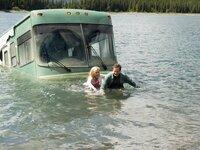 DIe Reise nach Colorado haben sich Bob (Robin Williams) und Jamie (Cheryl Hines) anders vorgestellt.