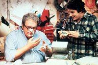 Hoyt Axton as Rand Peltzer and Zach Galligan as his son, Billy.