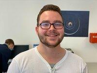 Tobias Treidelkamp aus Eitorf bei Siegburg. Der gelernte Koch möchte in einen medizinischen Beruf umsteigen. Er hat dieses Jahr 80 Bewerbungen geschrieben und genauso viele Absagen bekommen.