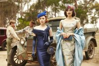 L-R: Nancy Pickett (Amanda Woodhams), Prudence Harridene (Hayley Magnus)