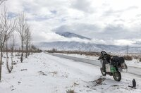 Auf dem Weg ins Tibetische Hochland.