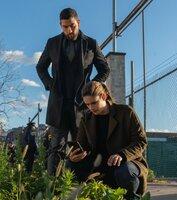 Special Agent Omar Adom 'OA' Zidan (Zeeko Zaki, l.); Special Agent Maggie Bell (Missy Peregrym, r.)
