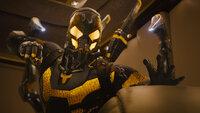 Im Auftrag des Physikers Dr. Hank Pym versucht der ehemalige Gefängnisinsasse Scott Lang (Paul Rudd, r.) als Ant-Man, den Wissenschaftler Darren Cross (Corey Stoll, l.), der mit der Erfindung seines ehemaligen Chefs beim Militär viel Geld machen will, zu sabotieren. Doch Cross hat die Technologie ebenfalls perfektioniert und kann sich als Yellowjacket dem Ant-Man entgegenstellen ...
