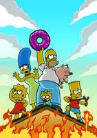 Dank Homer gerät die ganze Familie Simpson in eine wahrlich äußerst brenzlige Lage ...