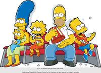 Familie Simpson gönnt sich mal wieder einen Kinobesuch ...