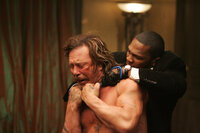 Damit Jimmy (50Cent, r.) das bekommt, was er will, muss Jefferson (Mickey Rourke, l.) sterben ...