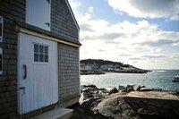Startpunkt Atlantikküste: Die Insel Monhegan in Maine.