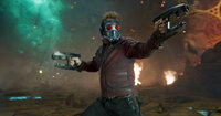 Peter Quill alias Star-Lord (Chris Pratt)