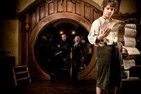 Bilbo (Martin Freeman) soll aufgrund der den Hobbits eigenen Unauffälligkeit als Meisterdieb für die Mission engagiert werden.