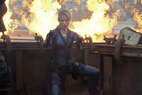 Will Alice um jeden Preis vernichten: Jill Valentine (Sienna Guillory) ...
