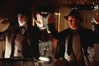 L-R:  Professor Henry Jones (Sean Connery), Indiana Jones (Harrison Ford)