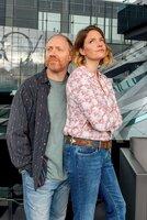 Von links: Franz (Simon Schwarz) und Linn (Patricia Aulitzky).