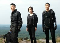 L-R: Dan Zhang (Andy Lau), Red Ye (Qi Shu), Po Chen (Tony Yo-ning Yang)