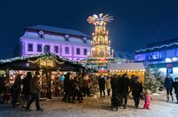 Auf dem Fuldaer Weihnachtsmarkt.