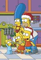 (16. Staffel) - Die chaotische Familie Simpson: Marge (hinten l.), Homer (hinten r.), Lisa (vorne M.), Bart (vorne r.), Maggie (vorne l.) ...
