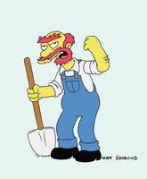 (13. Staffel) - Mit ihm ist nicht gut Kirschen essen: Hausmeister Willie.